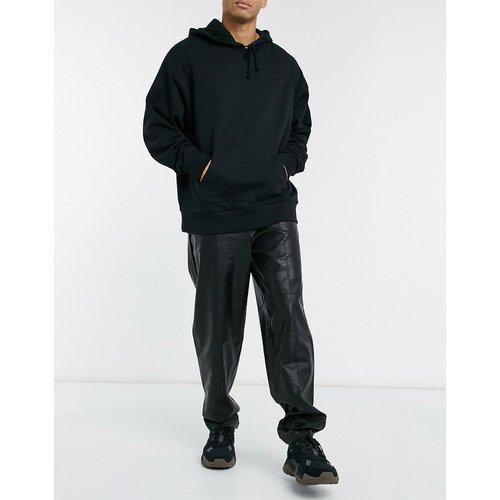 Pantalon slim élégant à taille haute en vinyle - ASOS DESIGN - Modalova