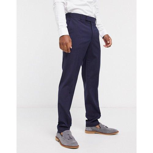 Pantalon slim élégant - Bleu marine - ASOS DESIGN - Modalova