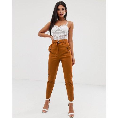Pantalon slim fonctionnel - Rouille - ASOS DESIGN - Modalova