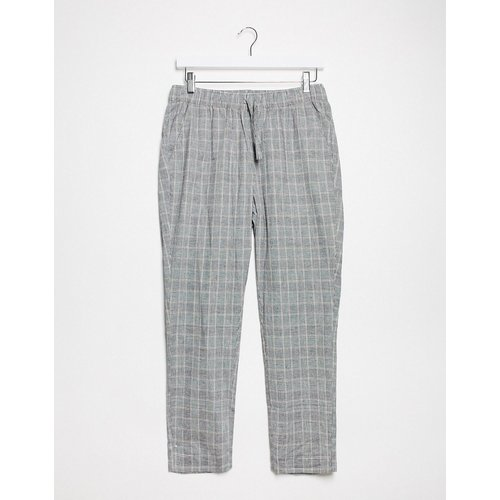 Pantalon slimà carreaux - ASOS DESIGN - Modalova
