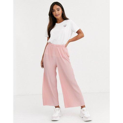 Pantalon style jupe-culotte plissé - ASOS DESIGN - Modalova