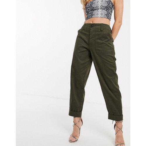 Pantalon style militaire coupe slim - ASOS DESIGN - Modalova