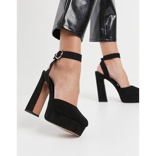 Pecan - Chaussures plateforme à talon haut - ASOS DESIGN - Modalova