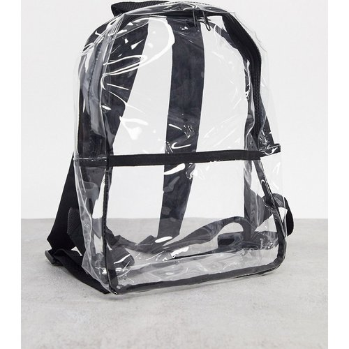 Petit sac à dos en plastique transparent - ASOS DESIGN - Modalova