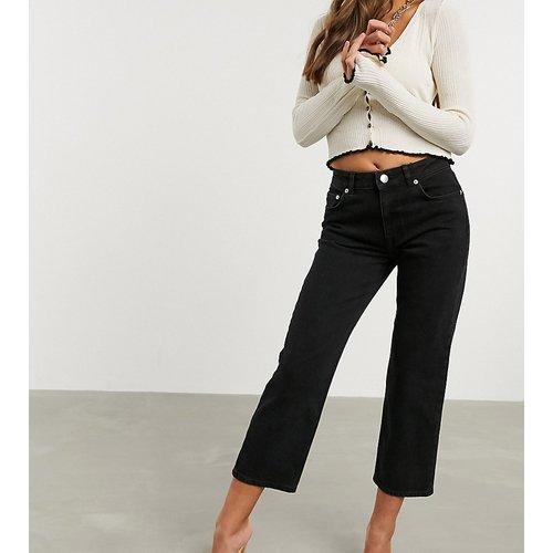 ASOS DESIGN Petite - Jean droit slim stretch taille haute - ASOS Petite - Modalova