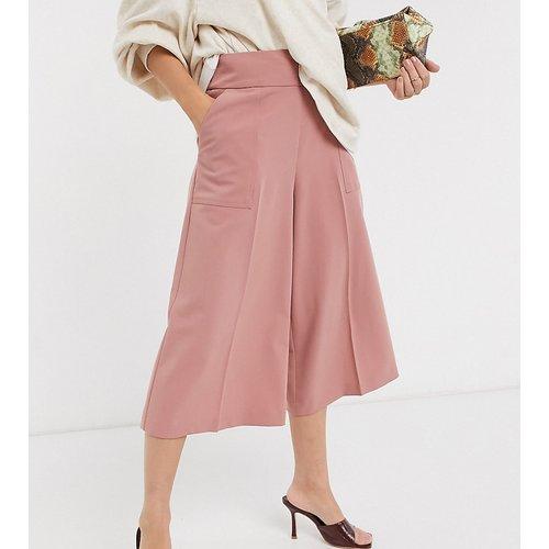 ASOS DESIGN Petite - Jupe-culotte ajustée épurée - ASOS Petite - Modalova