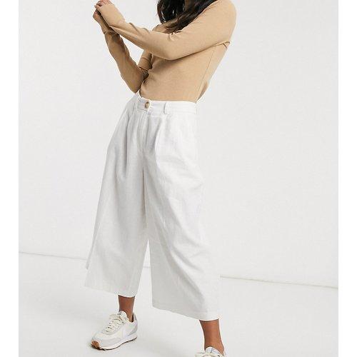 ASOS DESIGN Petite - Jupe-culotte en lin épuré - ASOS Petite - Modalova