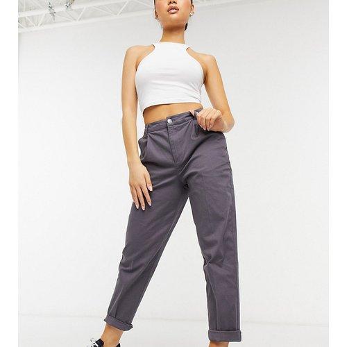 ASOS DESIGN Petite - Pantalon chino - Anthracite - ASOS Petite - Modalova