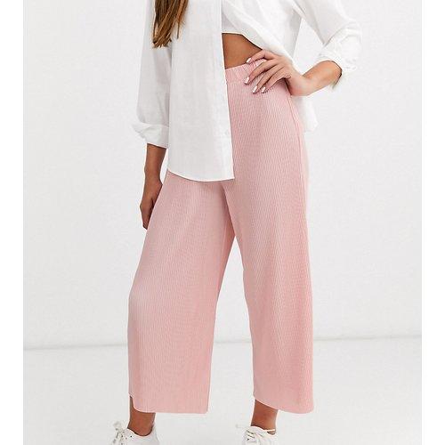 ASOS DESIGN Petite - Pantalon style jupe-culotte plissé - ASOS Petite - Modalova