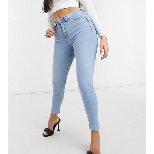 ASOS DESIGN Petite - Ridley - Jean skinny délavé taille haute - ASOS Petite - Modalova