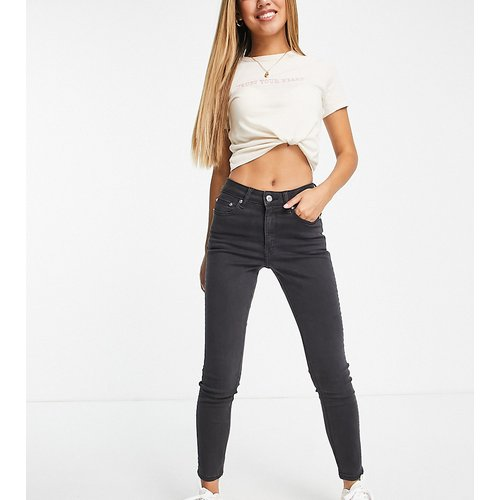 ASOS DESIGN Petite - Ridley - Jean skinny taille haute - délavé - ASOS Petite - Modalova