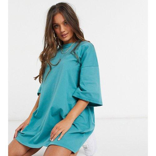ASOS DESIGN Petite - Robe t-shirt oversize - ASOS Petite - Modalova