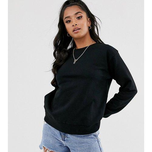 ASOS DESIGN Petite - Ultimate - Sweat-shirt en coton biologique - ASOS Petite - Modalova
