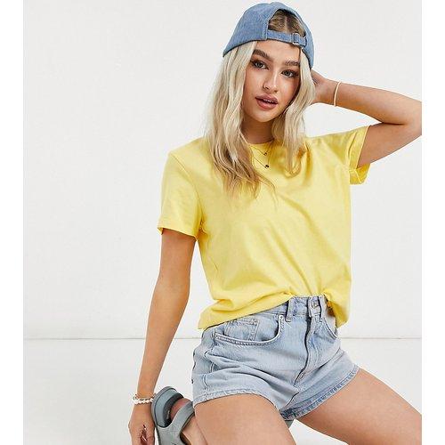 ASOS DESIGN Petite - Ultimate - T-shirt ras de cou en coton biologique - ensoleillé - ASOS Petite - Modalova