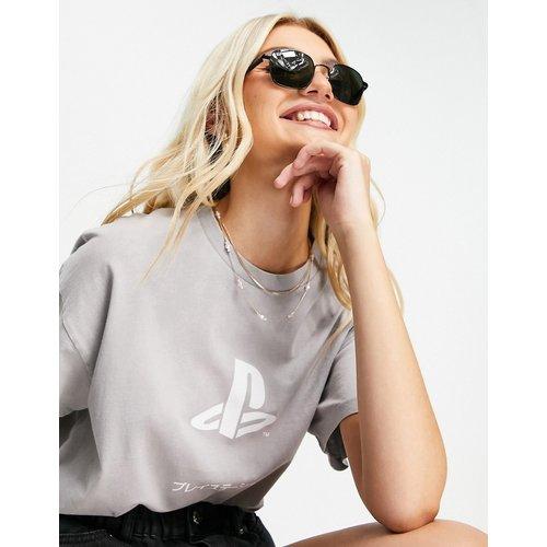 Playstation - T-shirt oversize - pâle délavé - ASOS DESIGN - Modalova