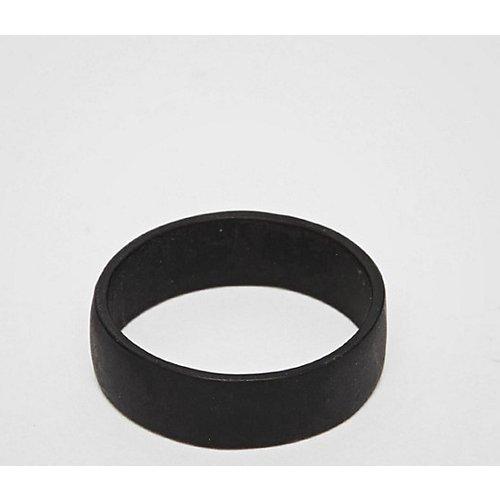 ASOS DESIGN Plus - Bague - Noir mat - ASOS DESIGN - Modalova