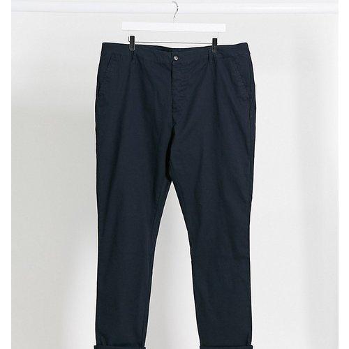 Plus - Pantalon chino skinny - Bleu marine - ASOS DESIGN - Modalova