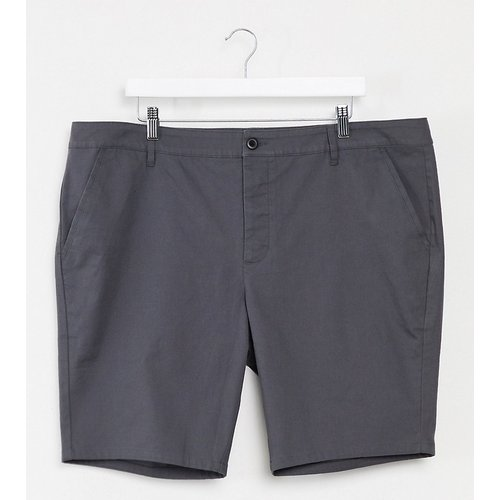 Plus - Short chino super ajusté -  délavé - ASOS DESIGN - Modalova