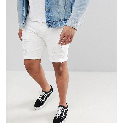Plus - Short en jean skinny déchiré - ASOS DESIGN - Modalova