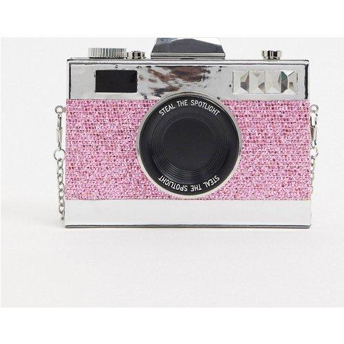 Pochette originale en forme d'appareil photo -Éclat - ASOS DESIGN - Modalova