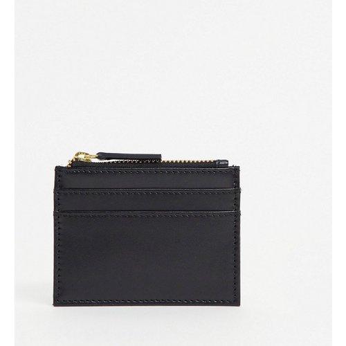 Porte-cartes en cuir avec porte-monnaie - ASOS DESIGN - Modalova
