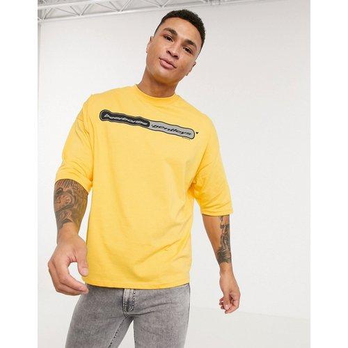 Post Malone - T-shirt oversize avec imprimé sur le devant et au dos - ASOS DESIGN - Modalova
