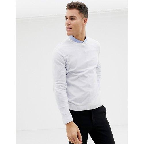 ASOS DESIGN - Pull en coton - Blanc - ASOS DESIGN - Modalova