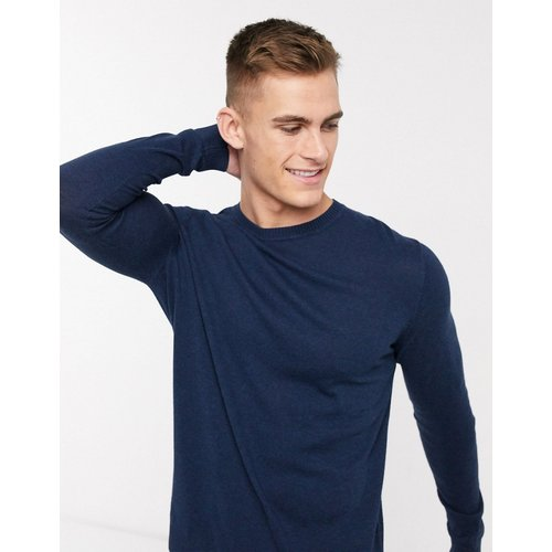 Pull en coton - Bleu marine - ASOS DESIGN - Modalova