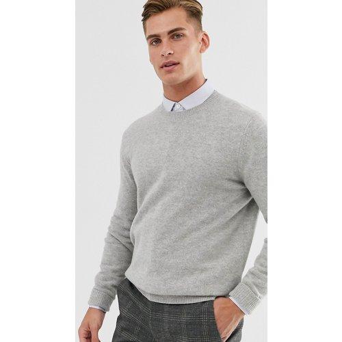 Pull en laine d'agneau - clair - ASOS DESIGN - Modalova