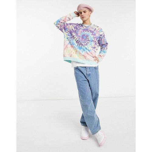 Pull en maille effet tie dye - Multicolore - ASOS DESIGN - Modalova