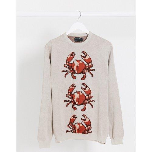 Pull en maille motif crabe (ensemble) - ASOS DESIGN - Modalova