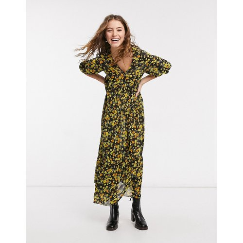 Robe babydoll mi-longue oversize à imprimé petites fleurs - ASOS DESIGN - Modalova