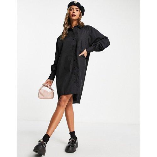 Robe chemise boyfriend courte oversize - ASOS DESIGN - Modalova