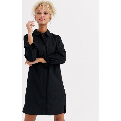 Robe chemise courte en coton - ASOS DESIGN - Modalova