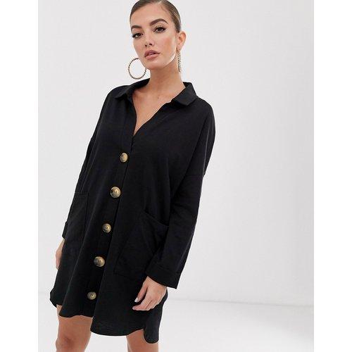 Robe chemise courte et ample - ASOS DESIGN - Modalova