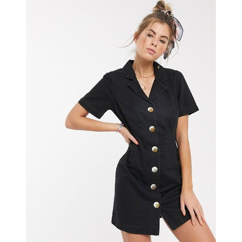 Robe chemise en jean - délavé - ASOS DESIGN - Modalova