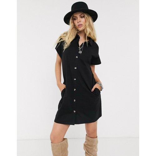 ASOS DESIGN - Robe chemise - Noir - ASOS DESIGN - Modalova