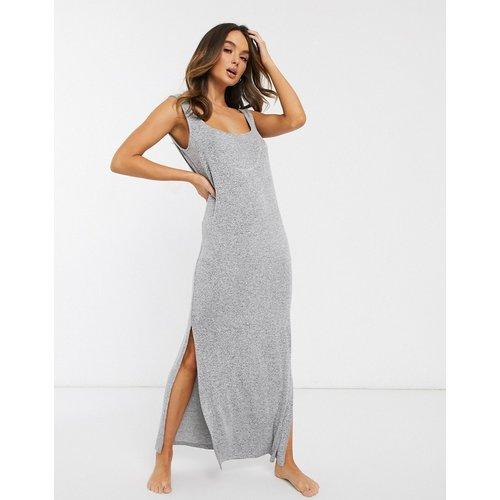 Robe confort en maille côtelée - ASOS DESIGN - Modalova