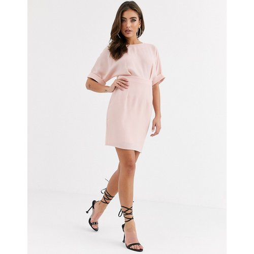- Robe courte - Blush - ASOS DESIGN - Modalova