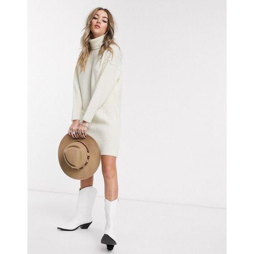 Robe courte et épaisse à col roulé - ASOS DESIGN - Modalova