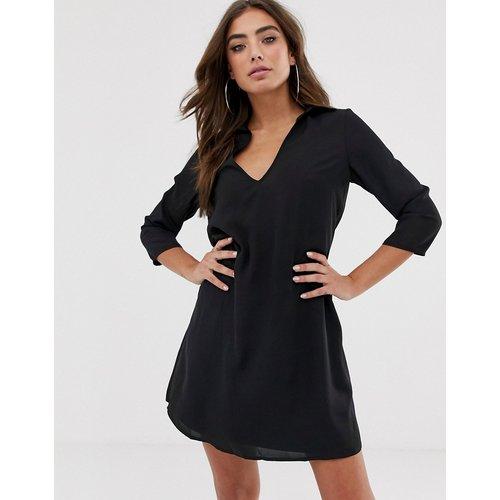 Robe courte trapèze avec col - ASOS DESIGN - Modalova