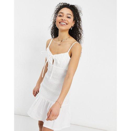 Robe d'été courte froncée - ASOS DESIGN - Modalova