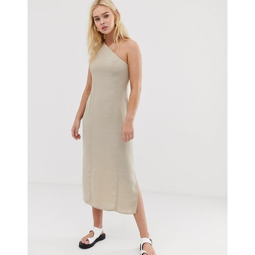 Robe mi-longue asymétrique - ASOS DESIGN - Modalova