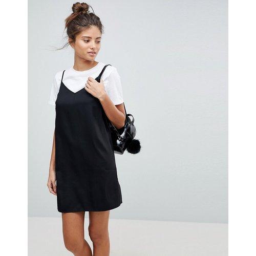 Robe nuisette courte style caraco pour poitrines généreuses - ASOS DESIGN - Modalova