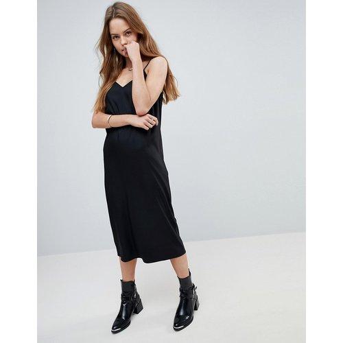 Robe nuisette style caraco mi-longue - ASOS DESIGN - Modalova