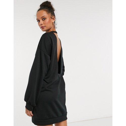 Robe pull courte avec dos ouvert - ASOS DESIGN - Modalova