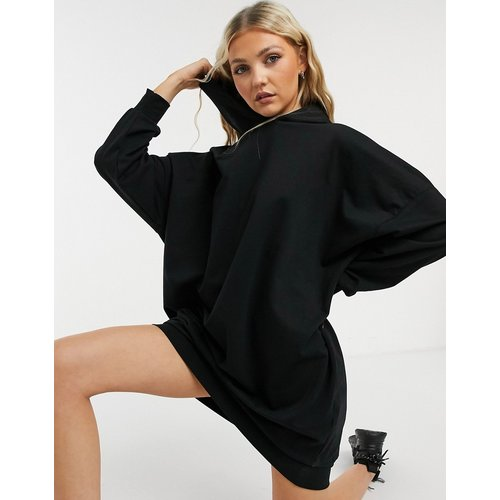 Robe sweat-shirt à capuche - ASOS DESIGN - Modalova