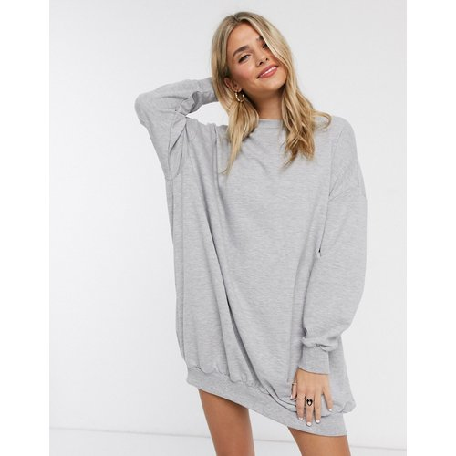 Robe sweat-shirt oversize - ASOS DESIGN - Modalova