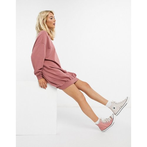 Robe sweat-shirt oversize - ASOS DESIGN - Modalova