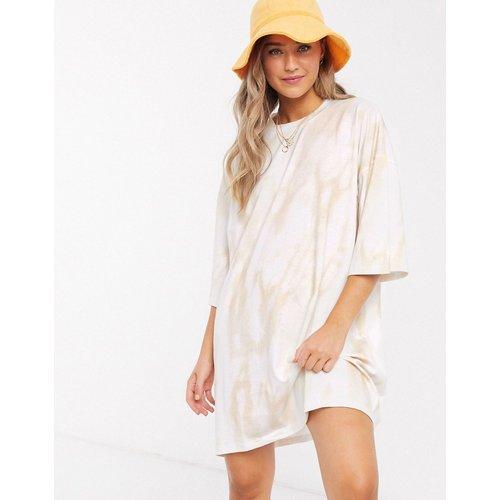 Robe t-shirt oversize à imprimé tie-dye - ASOS DESIGN - Modalova